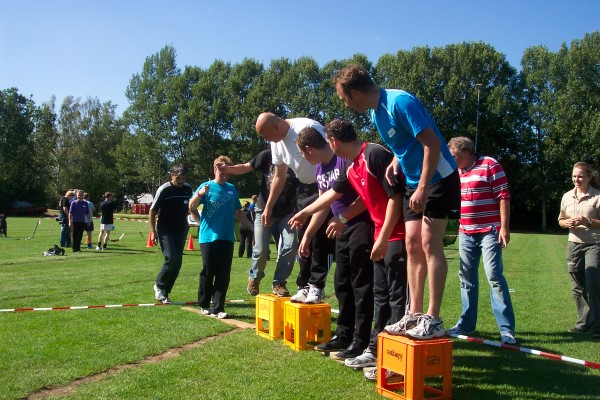 Zeskampen, sportdagen en outdoor events