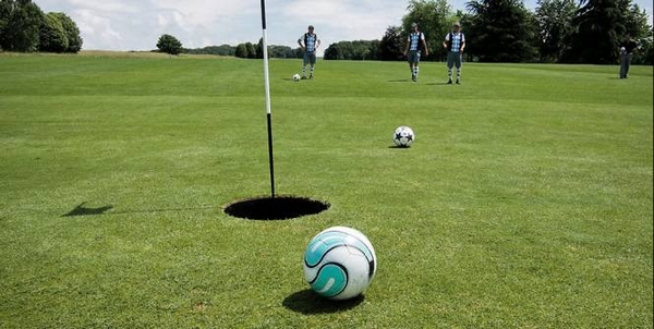Footgolf kinderfeest