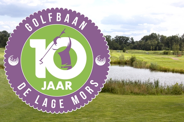Golf course de Lage Mors 10 years