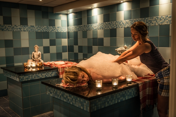 Hamam in Spa, sauna en wellness centre in wellnesshotel Aparthotel Delden